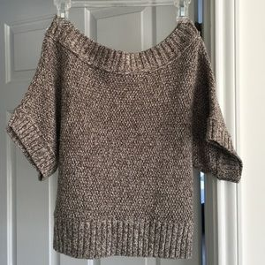 Off the shoulder, 3/4 sleeve sweater